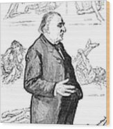 Jean Martin Charcot Wood Print by Granger