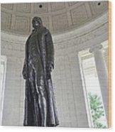 Jefferson Memorial # 6 Wood Print