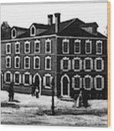 Jefferson's House, 1776 Wood Print