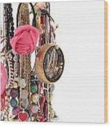Jewellery Wood Print