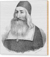 John Clark (1598-1664) Wood Print