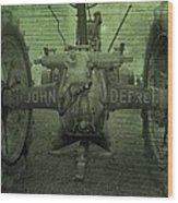 John Deere Wood Print
