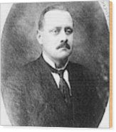 John Flammang Schrank (1876-1943) Wood Print