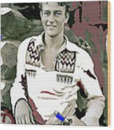 John Wayne In Buckskins The Big Trail 1930-2013 Wood Print