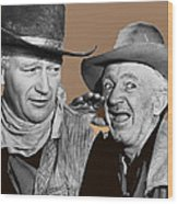 John Wayne Walter Brennan Publicity Photo Red River 1948-2013 Wood Print