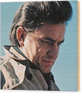 Johnny Cash Music Homage Ballad Of Ira Hayes Old Tucson Arizona 1971 Wood Print
