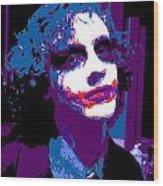Joker 11 Wood Print