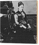 Julia Dent Grant (1826-1902) Wood Print