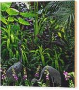 Jungle 2 Wood Print