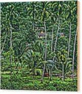 Jungle Life Wood Print