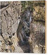 Jura Canyon Wood Print