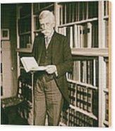Justice Oliver Wendell Holmes 1924 Wood Print
