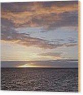Kailua Sunset Wood Print