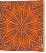 Kaleidoscope 32 Wood Print