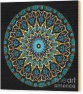 Kaleidoscope Steampunk Series Wood Print