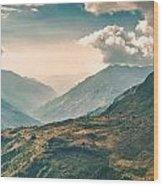 Kalinchok Kathmandu Valley Nepal Wood Print