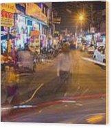 Katra Market Wood Print