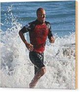 Kelly Slater World Surfing Champion Copy Wood Print