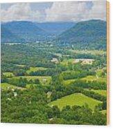 Kentucky Wood Print