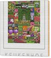 Keukenhof Gardens Poster Wood Print