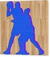Kevin Durant Kobe Bryant Wood Print