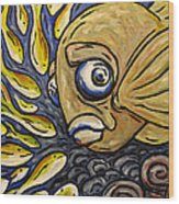 Responsible Fish Wood Print
