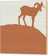 King Of The Dusk II Wood Print by Carolina Liechtenstein