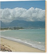 Kite Beach Kanaha Maui Hawaii Wood Print