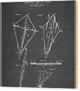 Kite Patent From 1892 Wood Print