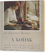 Kodak Advertisement, 1914 Wood Print