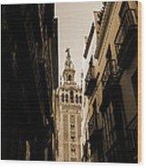 La Giralda - Seville Spain Wood Print