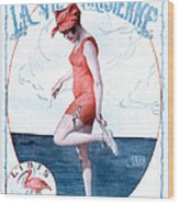 La Vie Parisienne 1918 1910s France Wood Print by The Advertising Archives