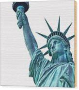 Lady Liberty  Wood Print by Jaroslav Frank