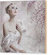 Lady Wood Print by Svetlana Sewell