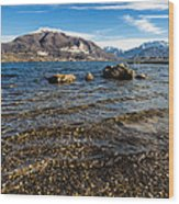 Lago Di Pusiano Wood Print