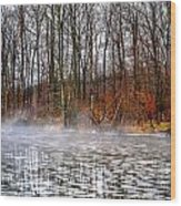 Lake Galena Doylestown Wood Print