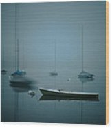 Lake Harriet Wood Print