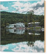 Lake Morey Inn And Resort Wood Print
