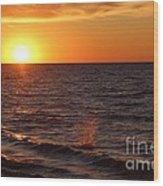 Lake Ontario Sunset Wood Print