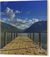 Lake Rotoiti Wood Print