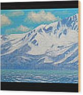 Lake Tahoe After The Storm Triptych Wood Print