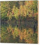 Lake Wedowee Alabama Wood Print