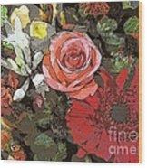 Lancaster Flowers Wood Print