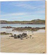 L'ancresse Bay - Guernsey Wood Print by Joana Kruse