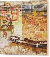 Lanzhou China Wood Print