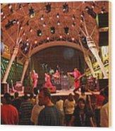 Las Vegas - Fremont Street Experience - 121211 Wood Print