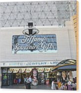 Las Vegas - Fremont Street Experience - 12123 Wood Print by DC Photographer