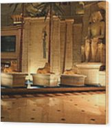 Las Vegas - Luxor Casino - 12122 Wood Print by DC Photographer