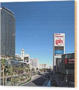Las Vegas - The Srip - 12121 Wood Print