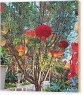 Las Vegas - Wynn Casino - 12123 Wood Print